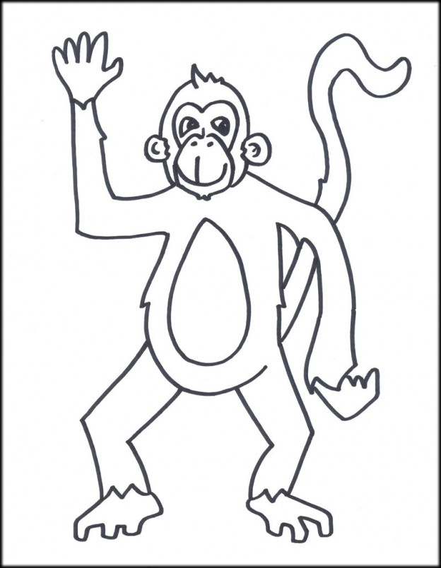 Impertinent image in monkey printable
