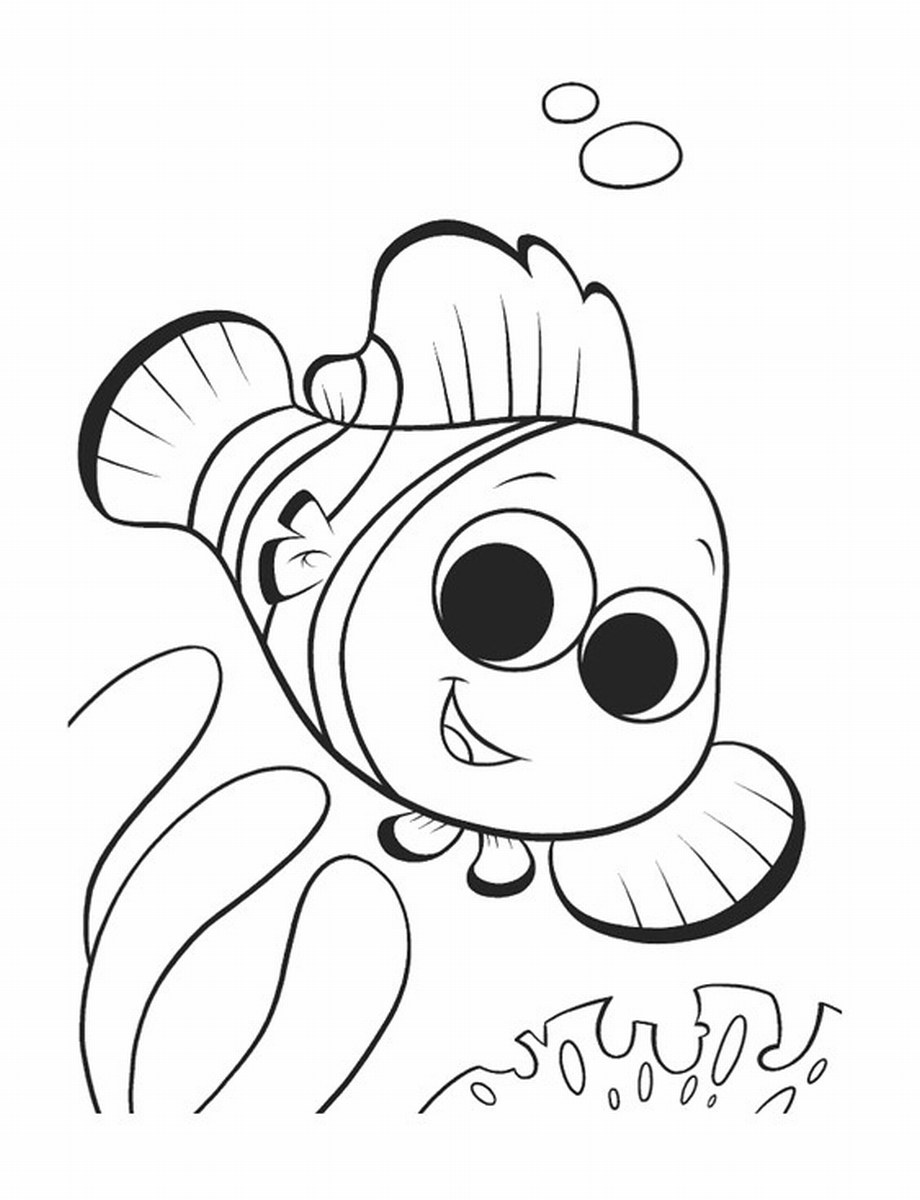 nemo coloring page - free printable nemo coloring pages for kids