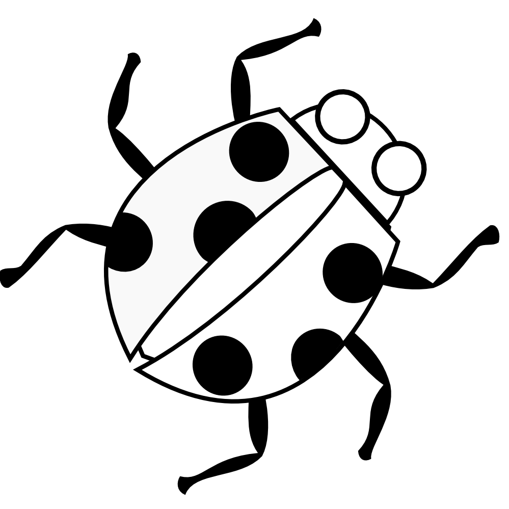 pictures of ladybug coloring pages