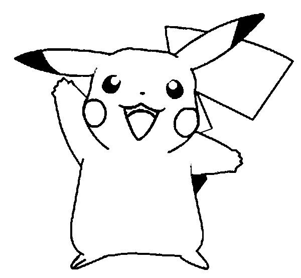 Pikachu Coloring Pages Free Printable For Kids