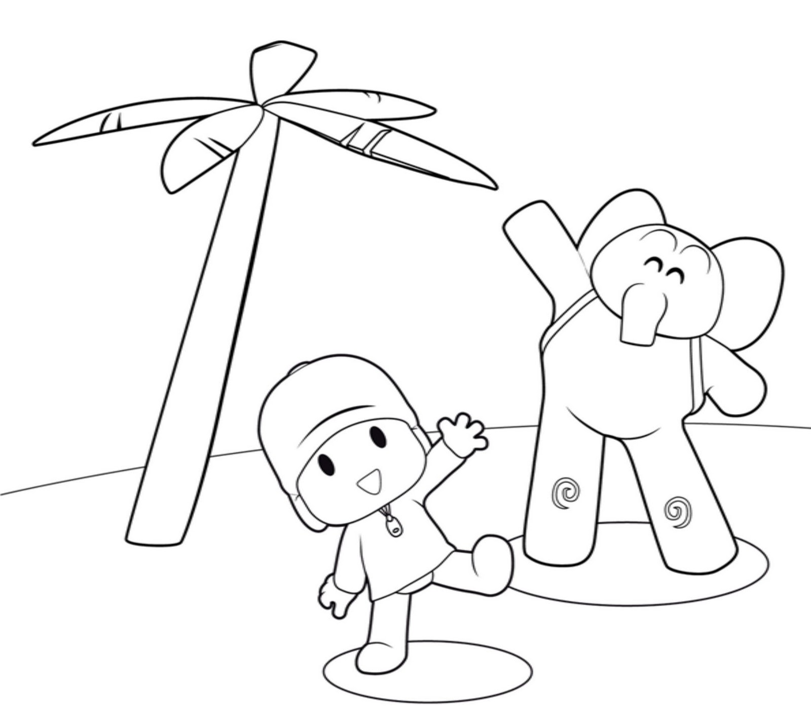Free Printable Pocoyo Coloring Pages For Kids Free Coloring Pages For To Print