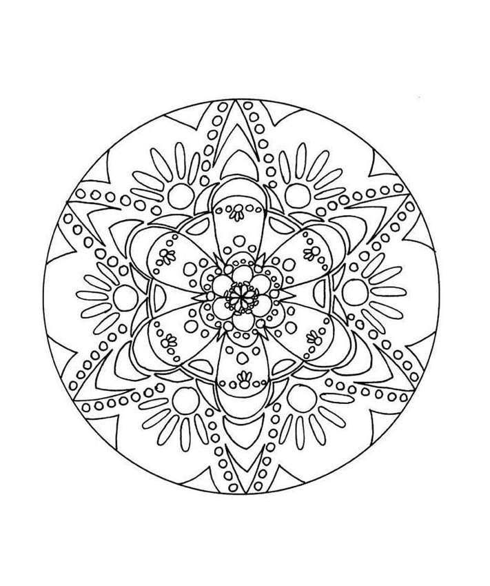 Printable Abstract Coloring Pages For Kids