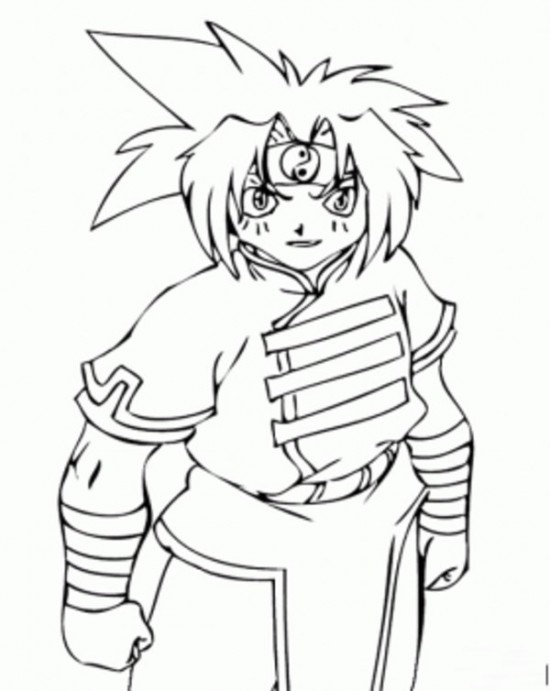 Printable Beyblade Coloring Pages For Kids