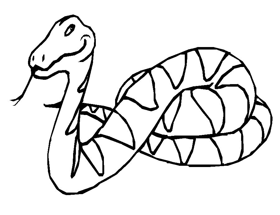 monster snake coloring pages - photo#36
