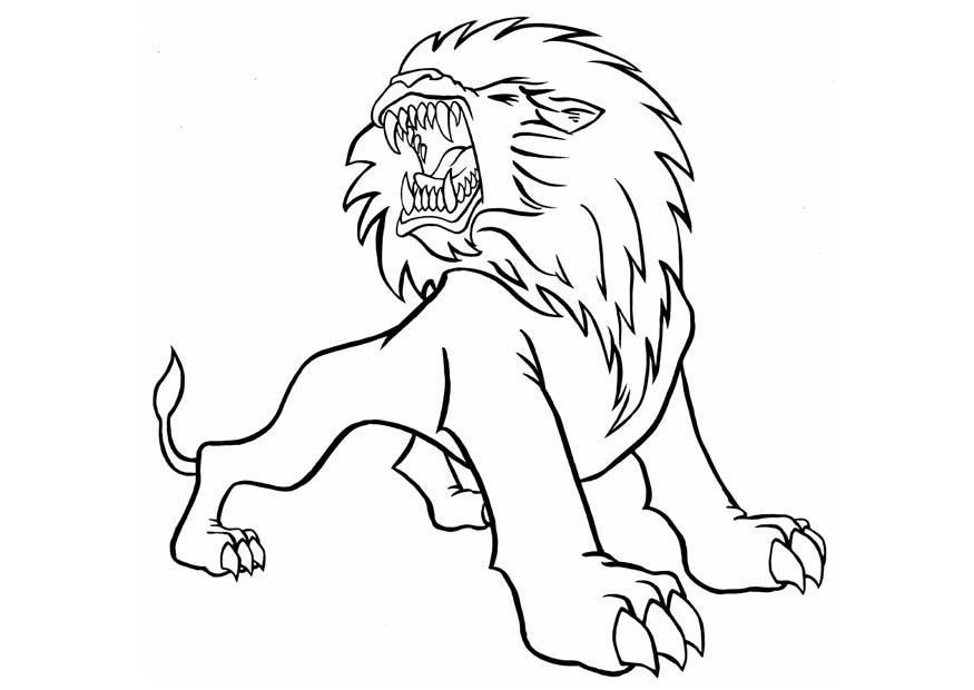 lion coloring pages realistic dragons - photo#36