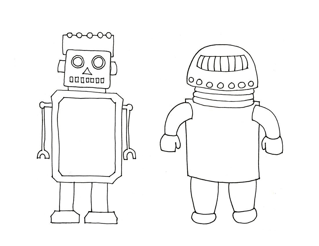 Coloring Pages Printable Robot Coloring Pages free printable robot coloring pages for kids free
