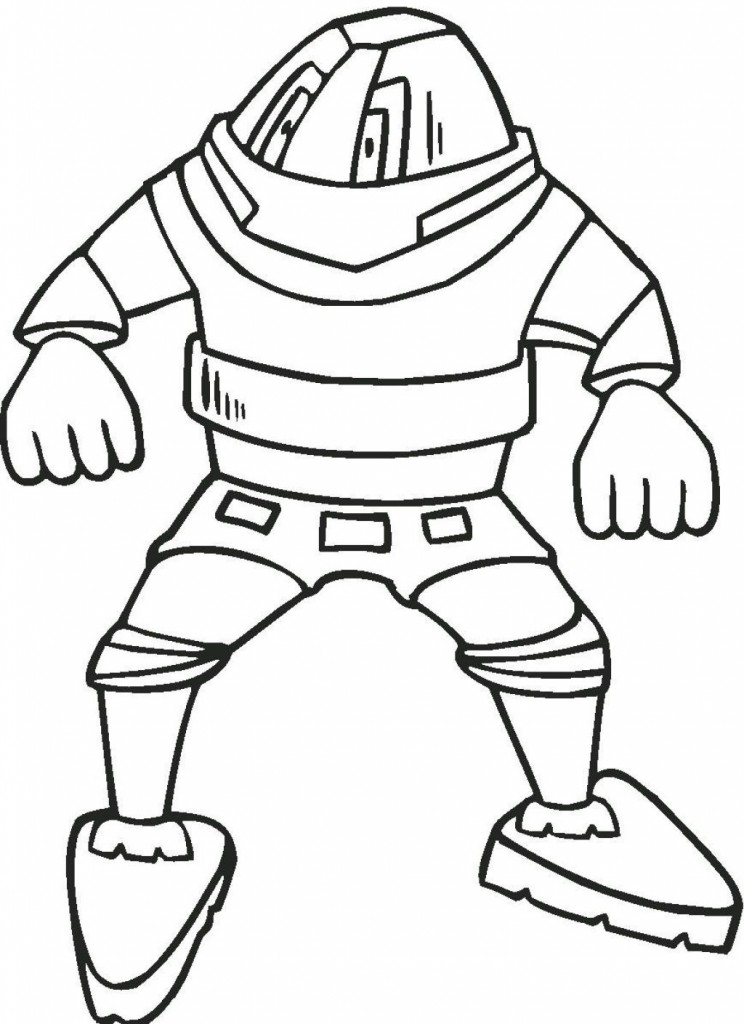 Robot Coloring Pages Pictures
