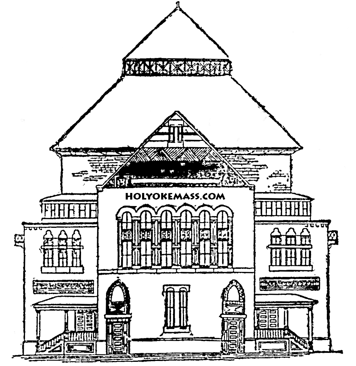 Free coloring pages houses and homes - School House Coloring Pages