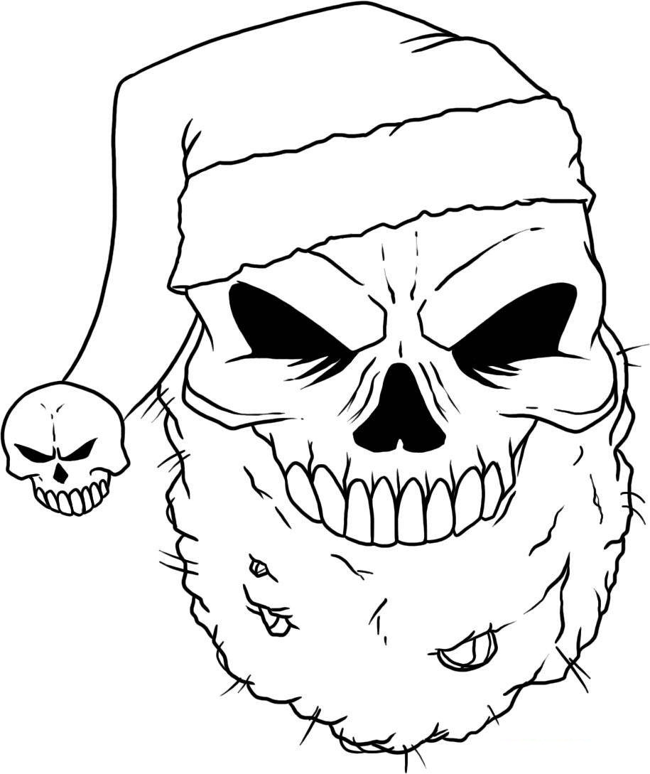 free printable skull coloring pages for kids - Sugar Skull Coloring Pages Print