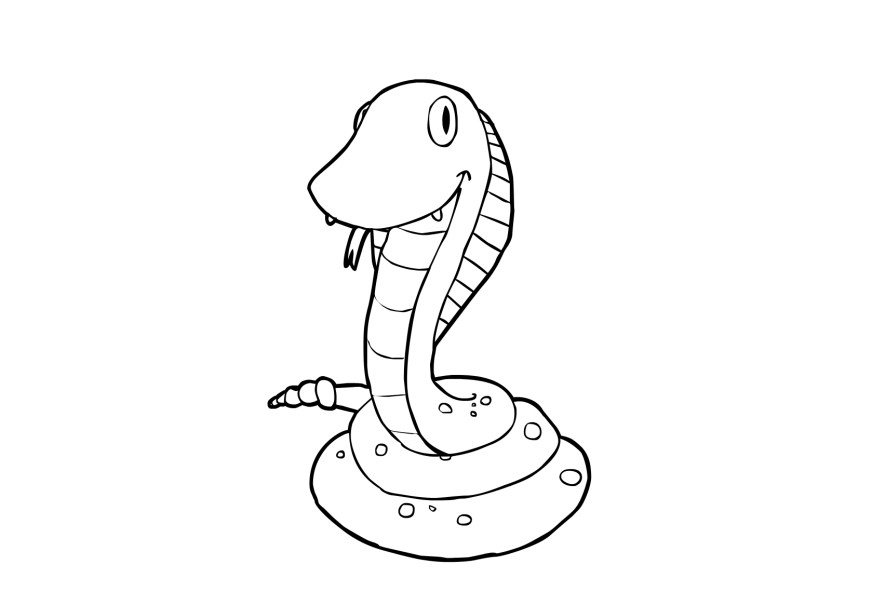 Snakes Coloring Pages Pictures