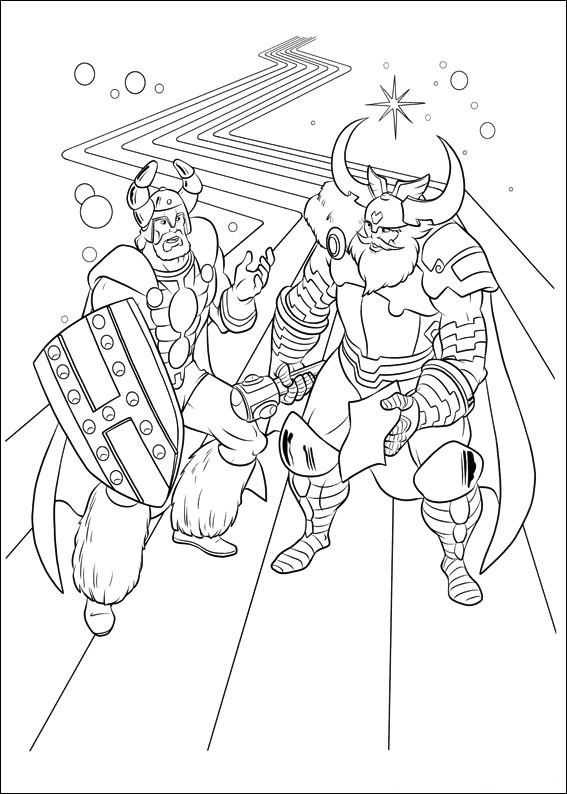 20 Free Printable Thor Coloring Pages: Free Printable Thor Coloring Pages For Kids