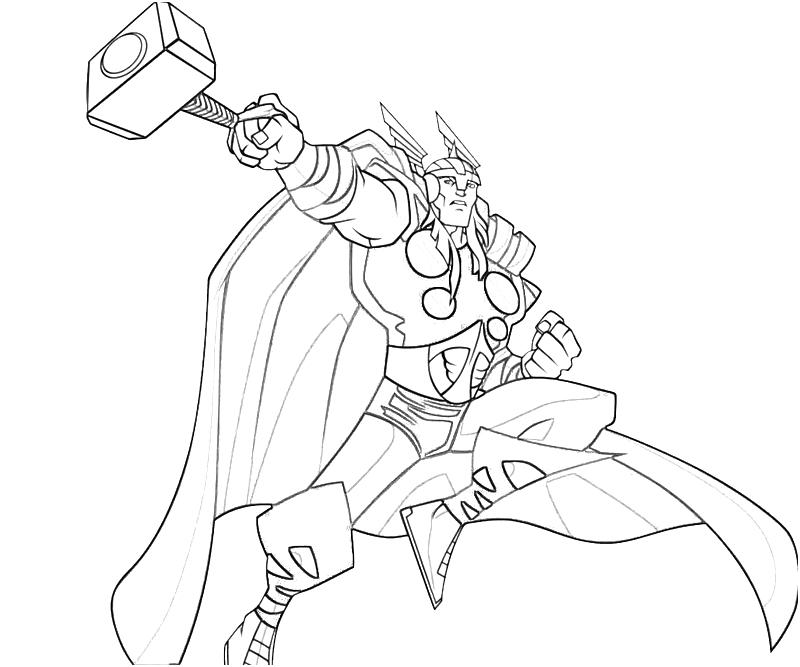Free Printable Thor Coloring Pages For Kids Free Printable Marvel Coloring Pages
