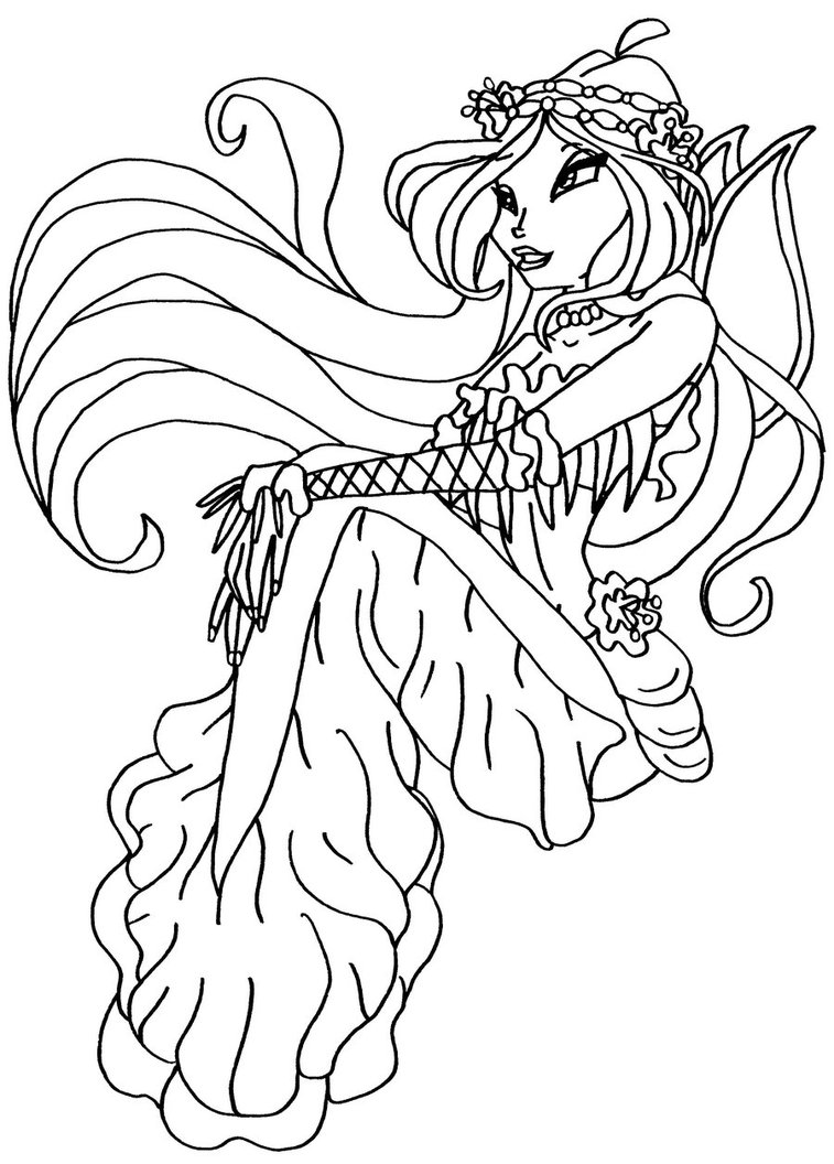 winxs club coloring pages - photo#36