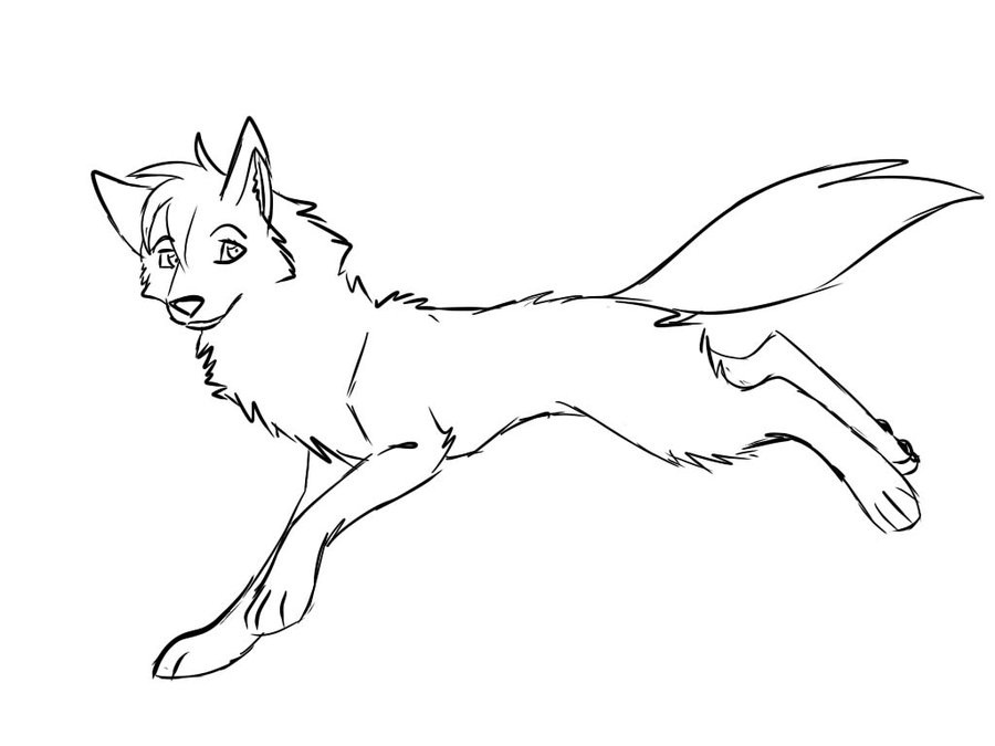 Free Anime Wolf Page Coloring Pages Wolf Coloring Pages Printable