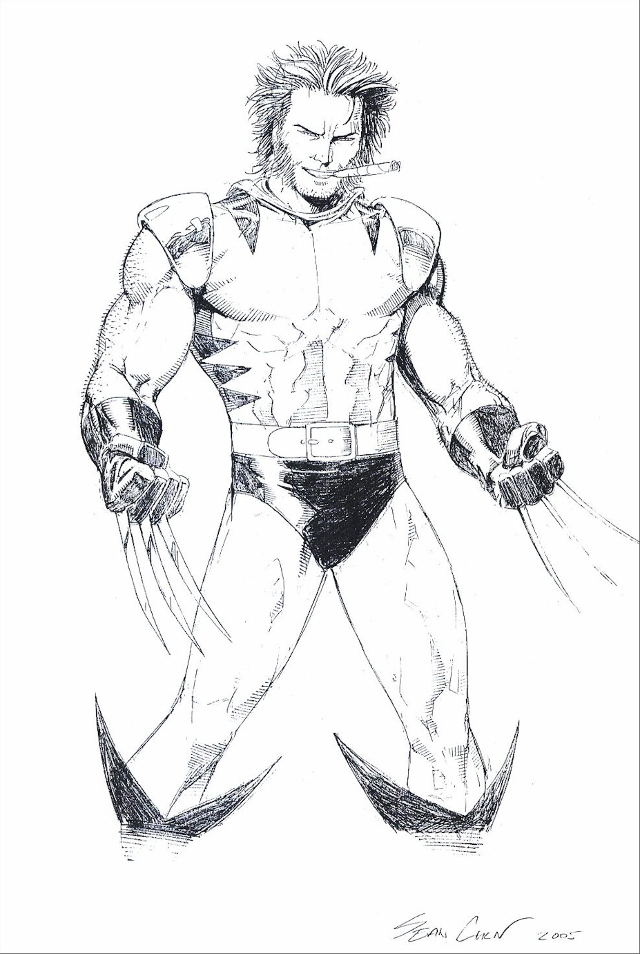 x man wolverine coloring pages - photo #50
