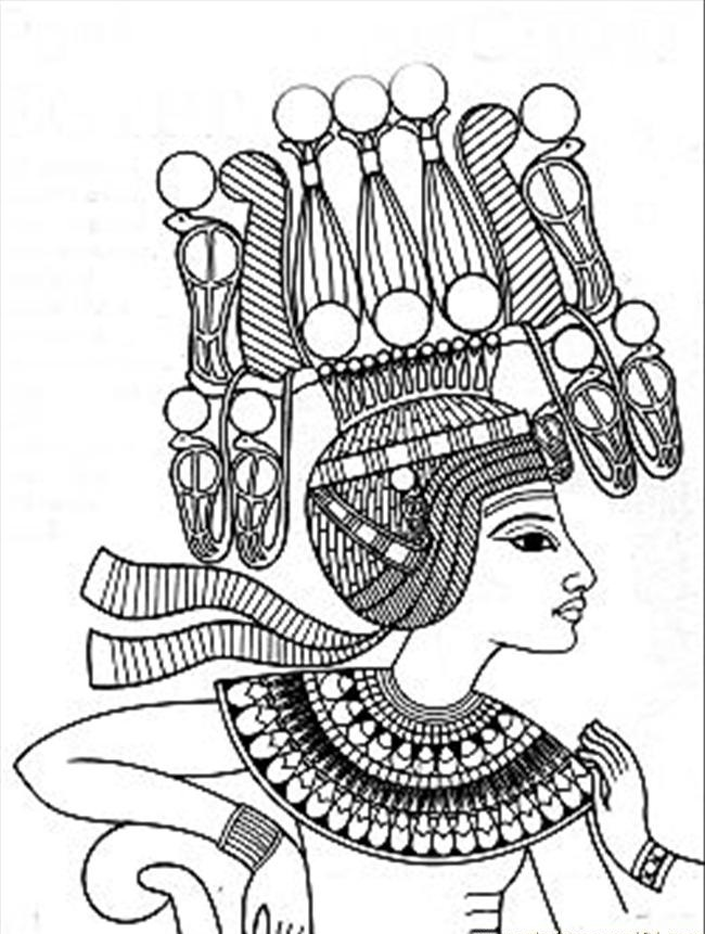 ancient egypt coloring pages to print - Egyptian Coloring Pages Printable