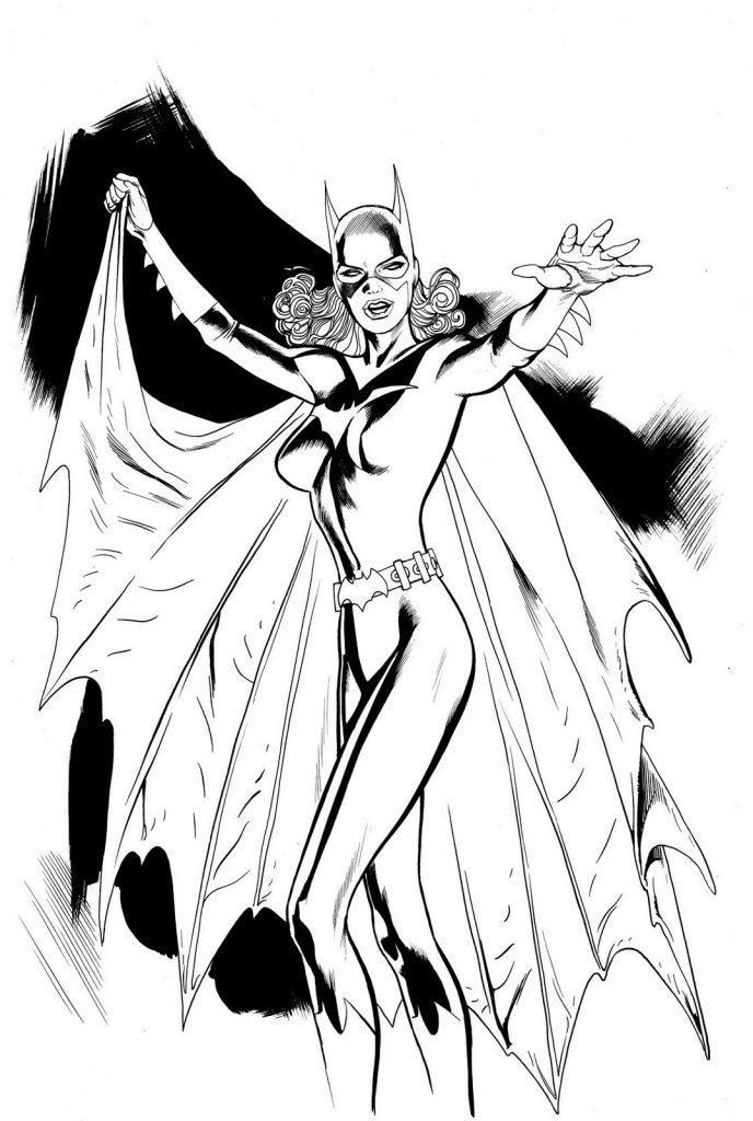 Free Printable Batgirl Coloring Pages For Kids Free Printable Batgirl Coloring Pages For