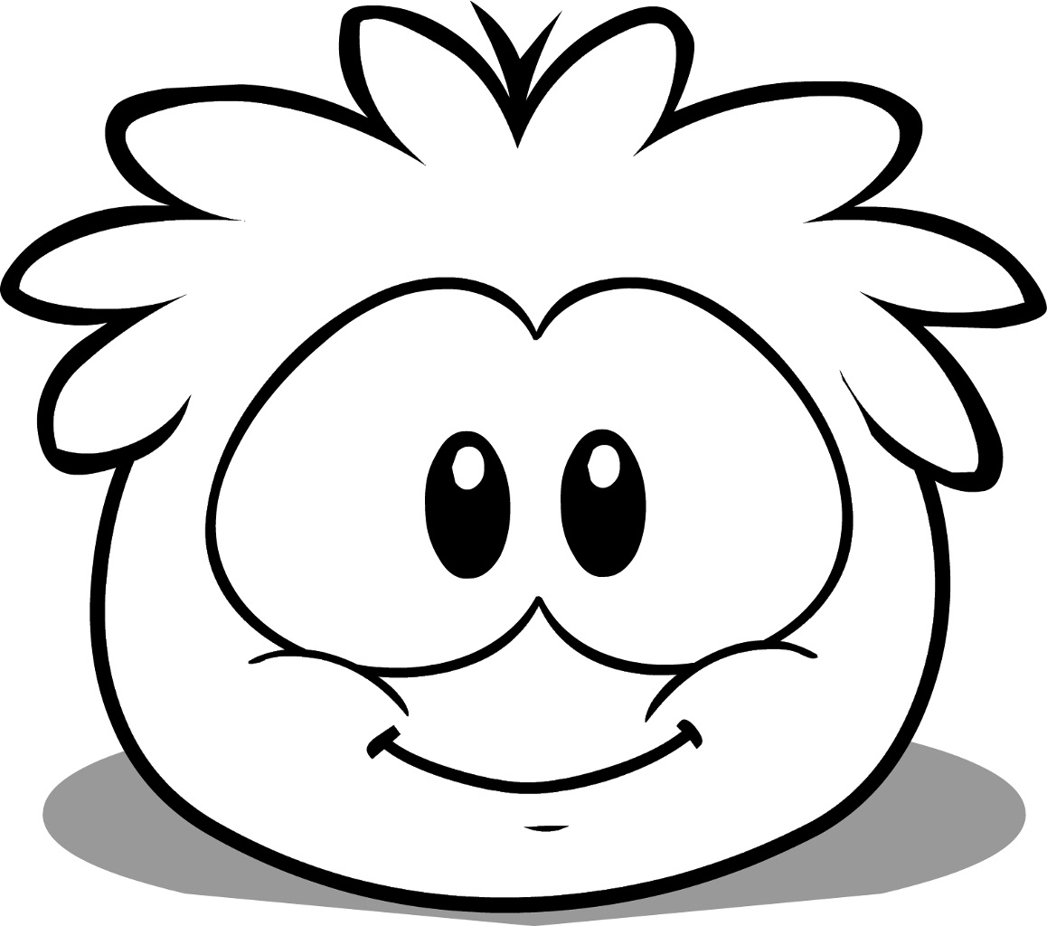 club penguin coloring pages of puffles cute coloring pages