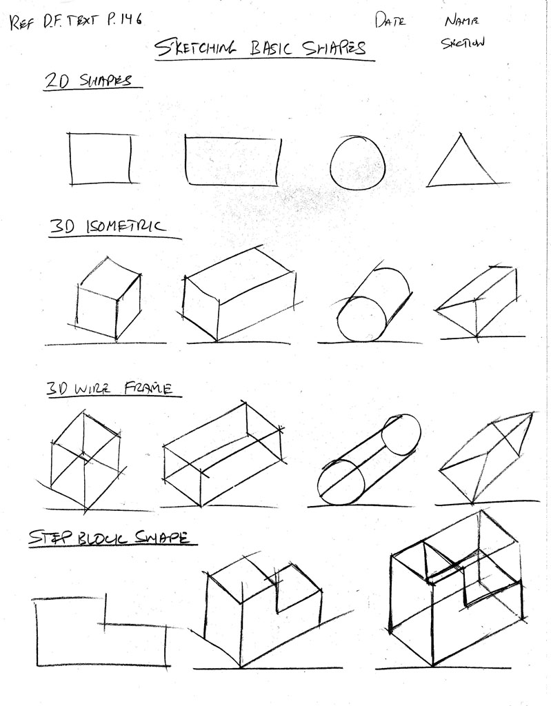 how to draw 2d shapes