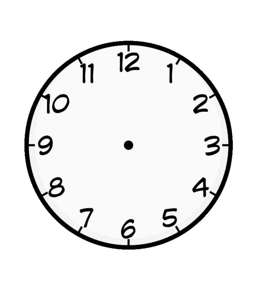 Coloring Pages Of Clock