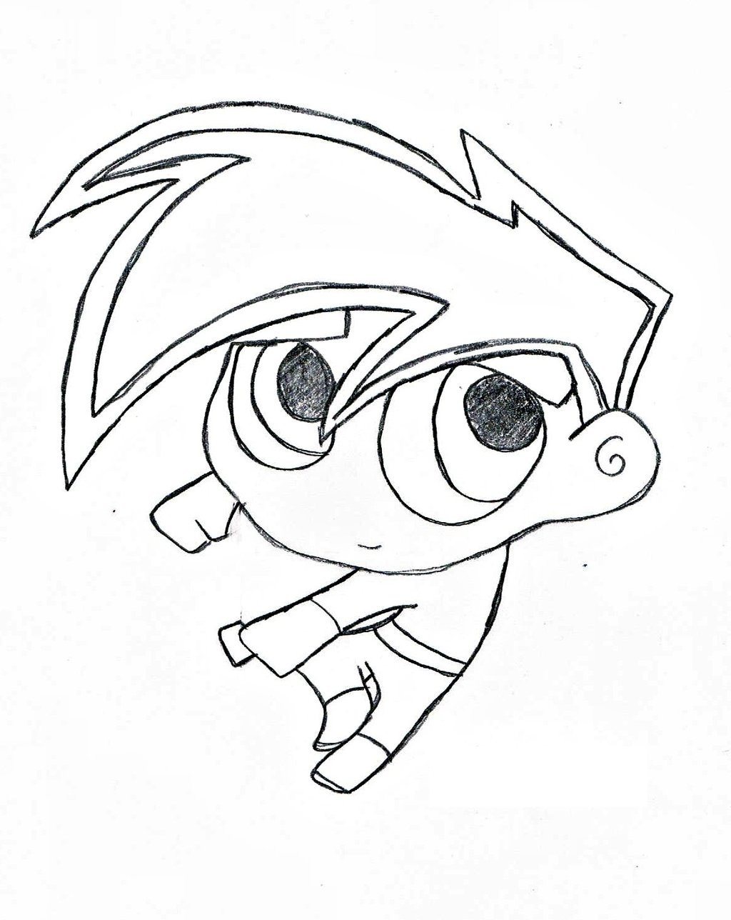Free Printable Danny Phantom Coloring Pages For Kids Coloring Pages Of A