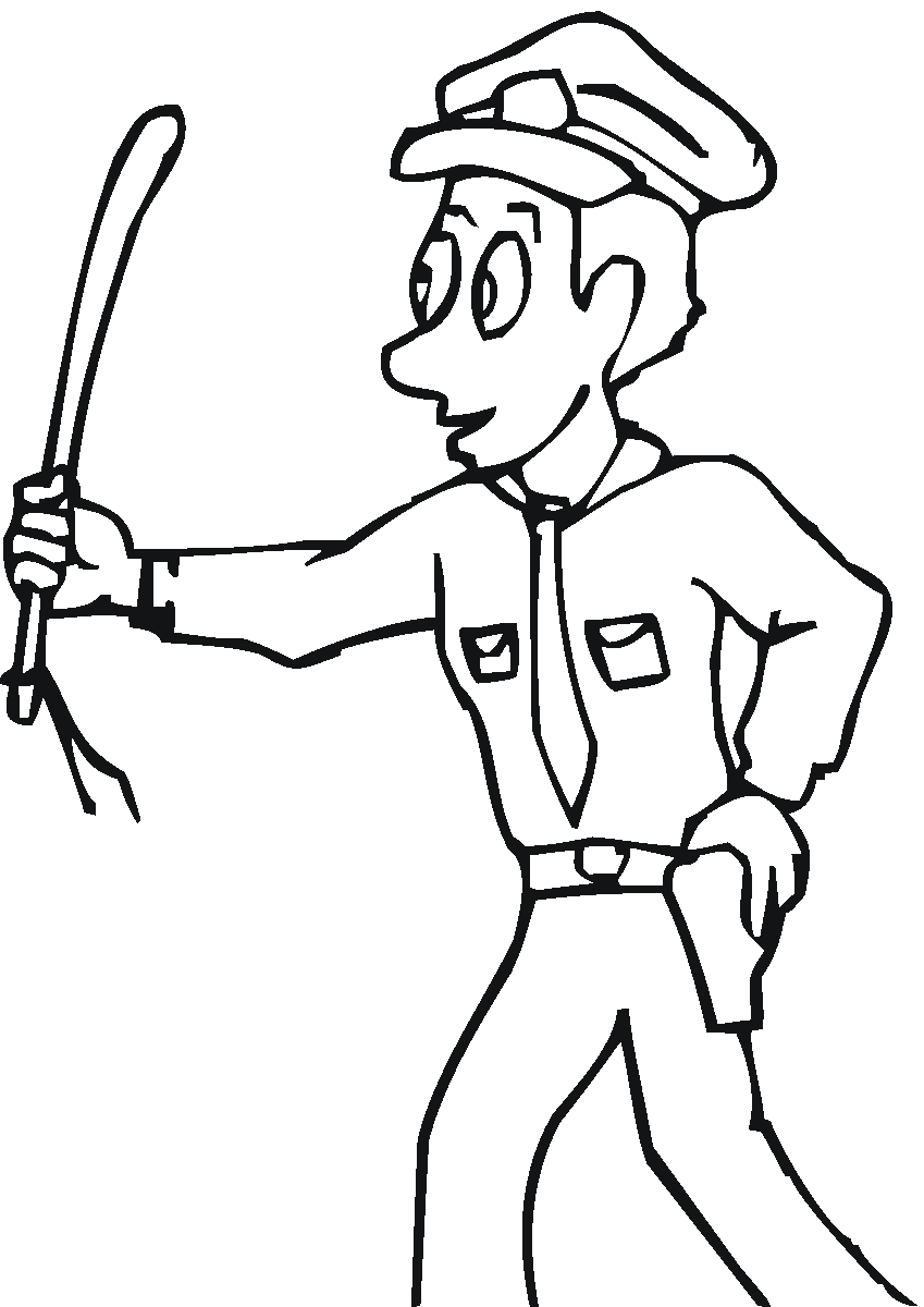 coloring pages community helper - photo#14