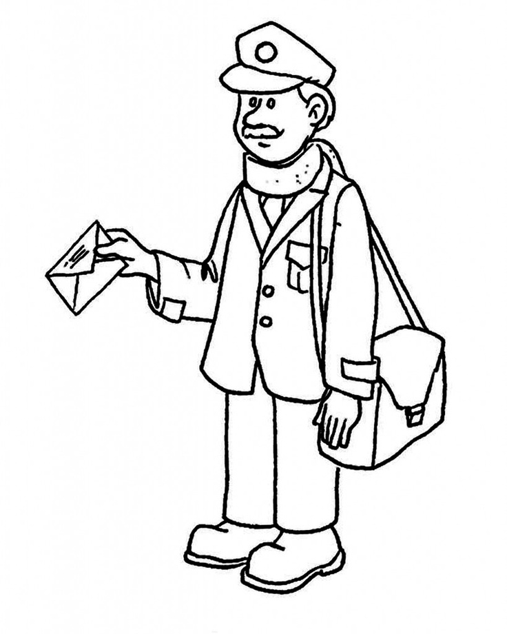 coloring pages community helper - photo#3