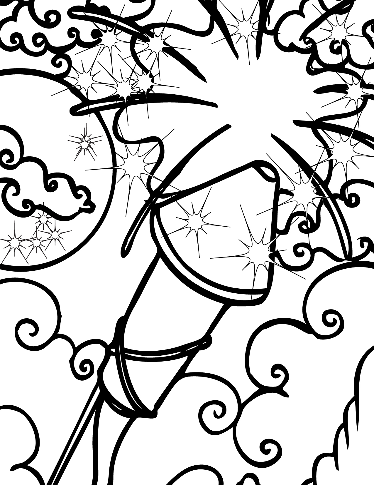 Fireworks Coloring Pages Free Printable Fireworks Coloring Pages For Kids