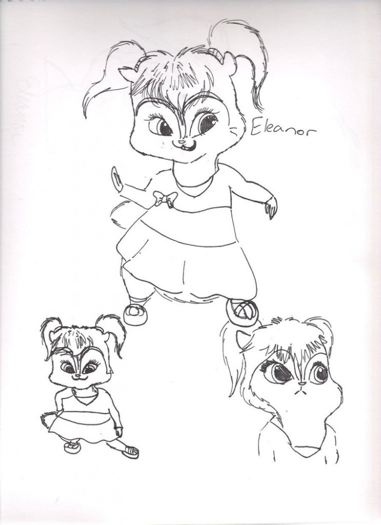 Free Printable Chipettes Coloring Pages For Kids