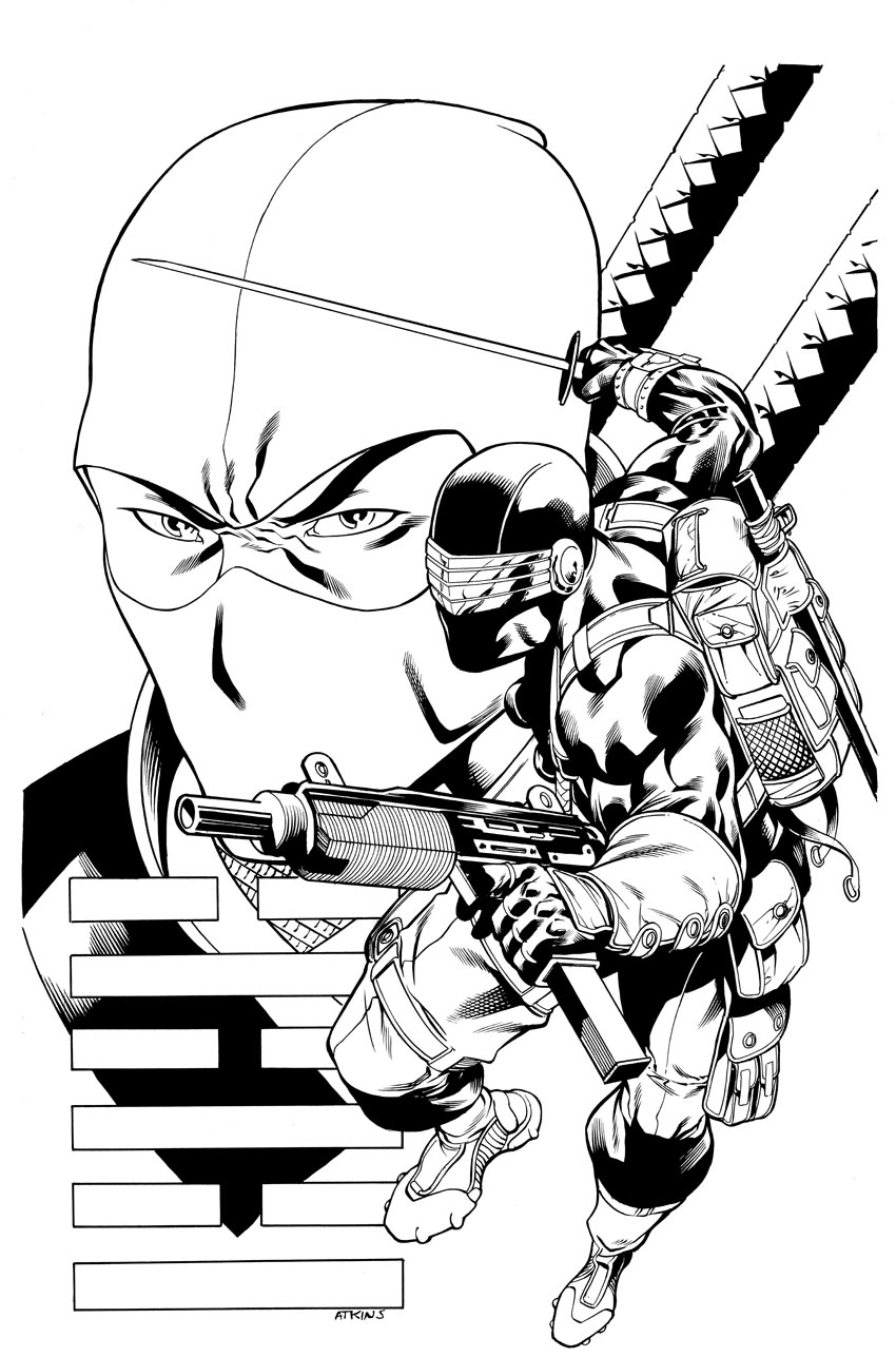 Coloring pages eyes - Free Gi Joe Coloring Pages