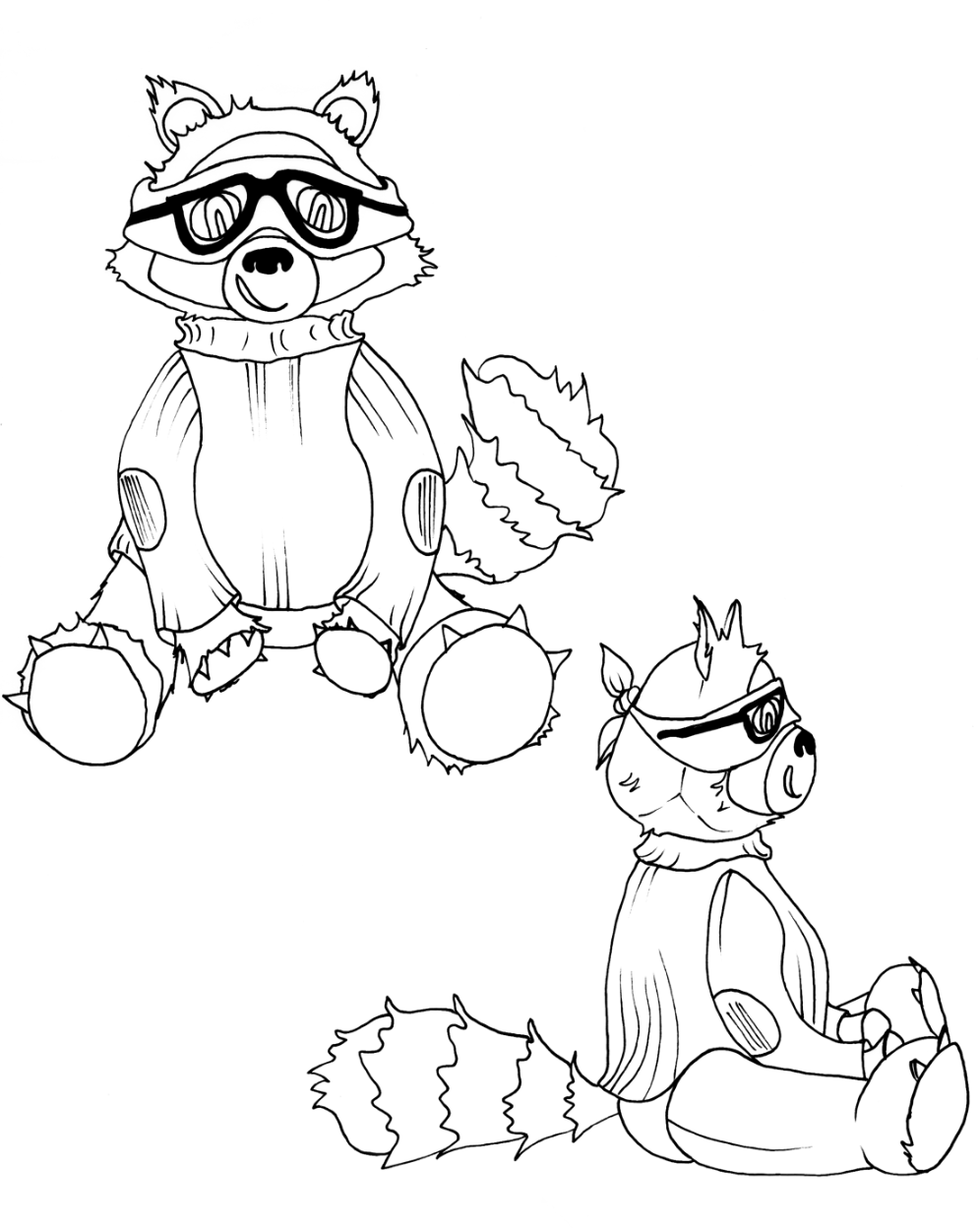 Coloring pages raccoon - Free Printable Coloring Pages Of Raccoon