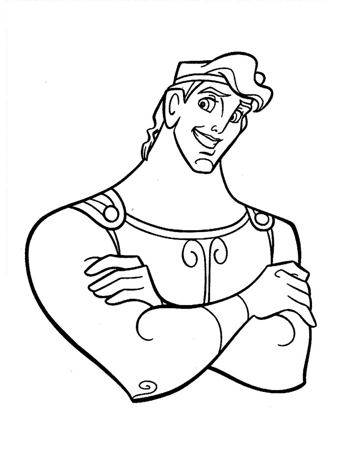 Free Printable Hercules Coloring Pages For Kids Hercules Coloring Pages
