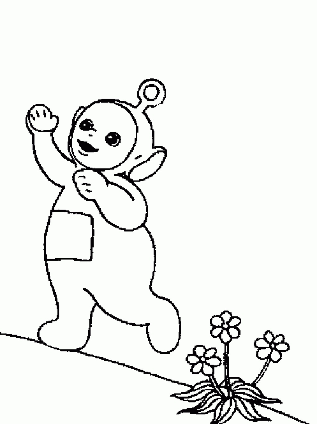 Free Printable Teletubbies Coloring