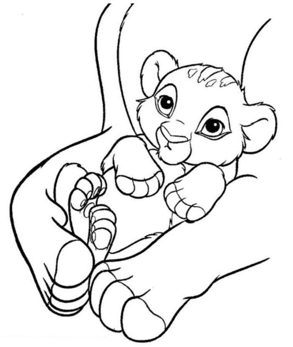 free coloring pages of lions - photo#42