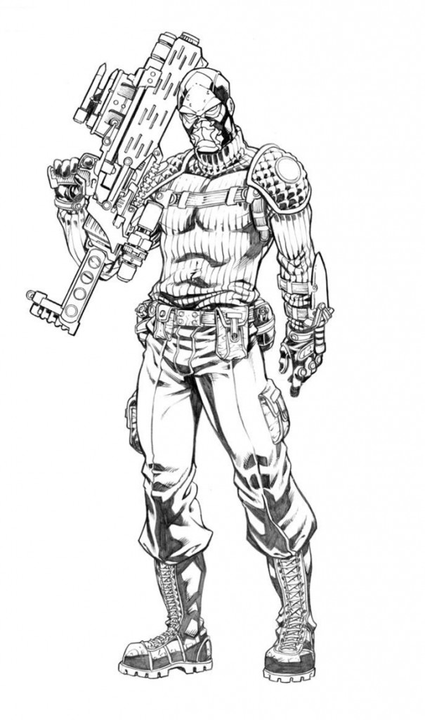 GI Joe Coloring Page For Kids