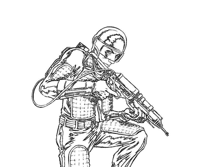 GI Joe Coloring Pages Printable