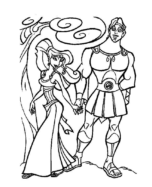 Free Printable Hercules Coloring