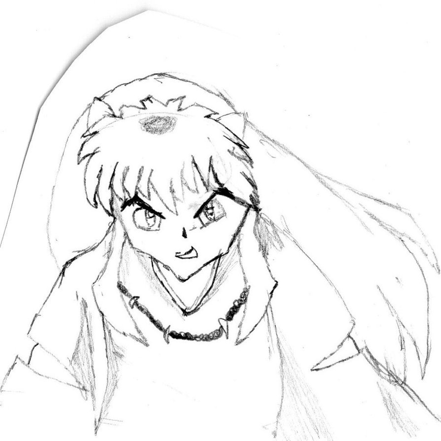 inuyasha printable coloring pages - photo#31
