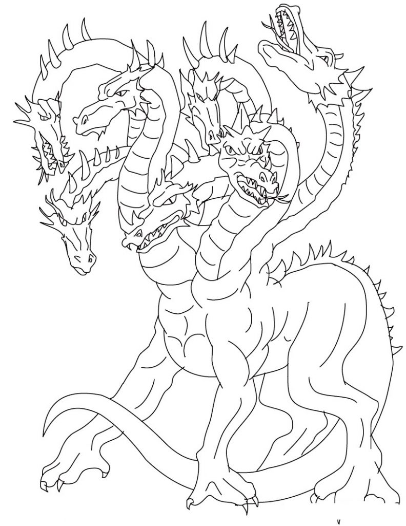free coloring pages of dragon - photo #27