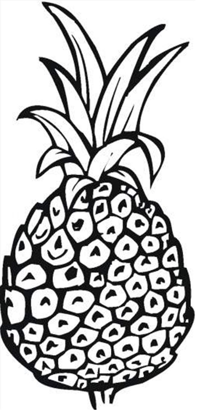 free coloring pages spongebob pineapple - photo#10