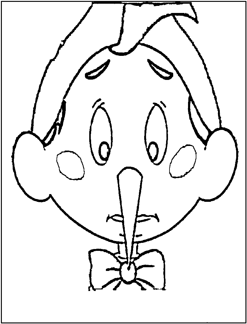 jiminey cricket coloring pages - photo#14