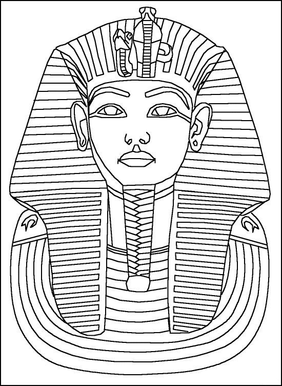 egyptian sphinx coloring pages - photo#35
