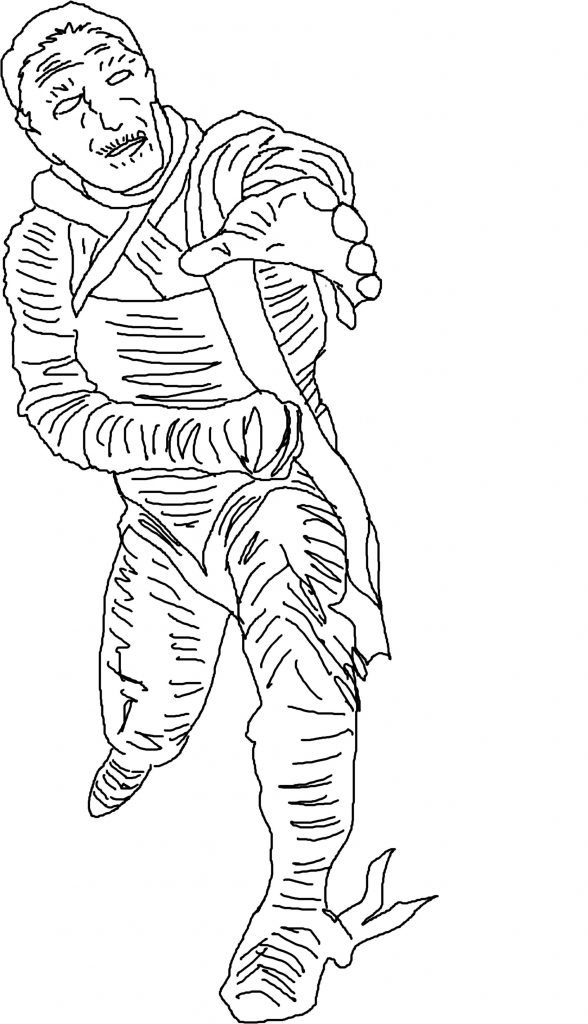 halloween mummy coloring pages - photo#26