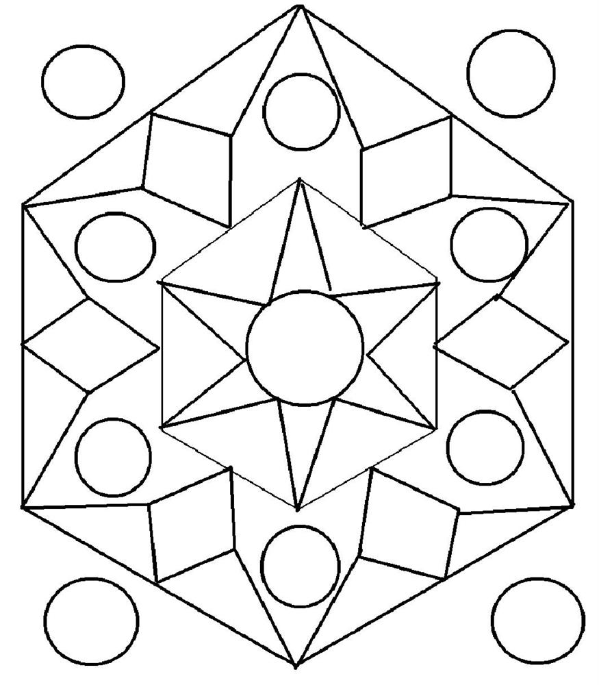 rangoli coloring pages free printable - Coloring Patterns Pages