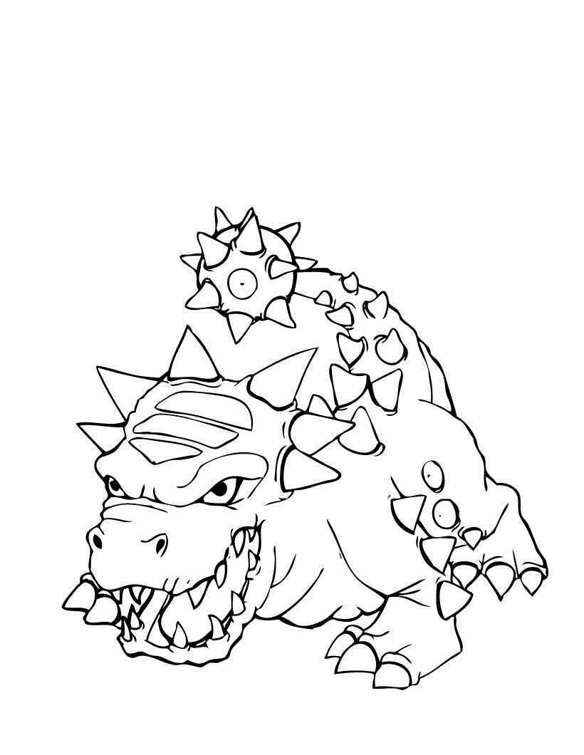 Free Printable Skylanders Coloring Pages | 1060x820