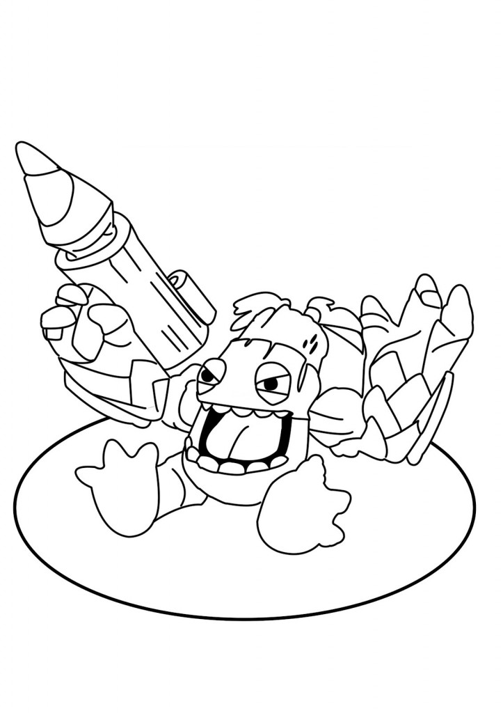 skylanders coloring pages dejau printable - photo#20