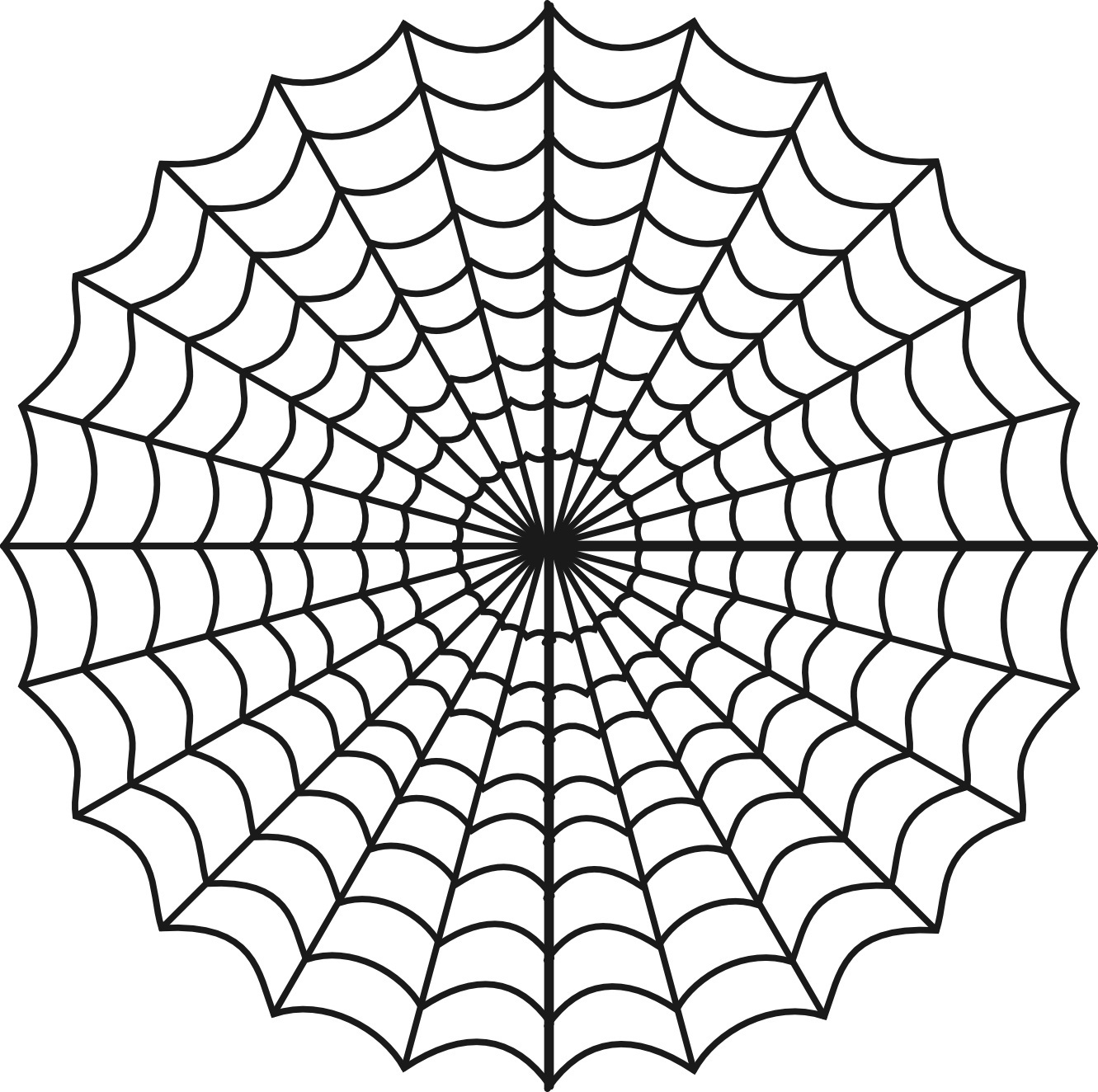 Free Printable Spider Web Coloring Pages For Kids Spider Web Coloring Page