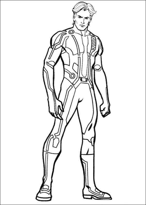 tron coloring pages to print - photo#24