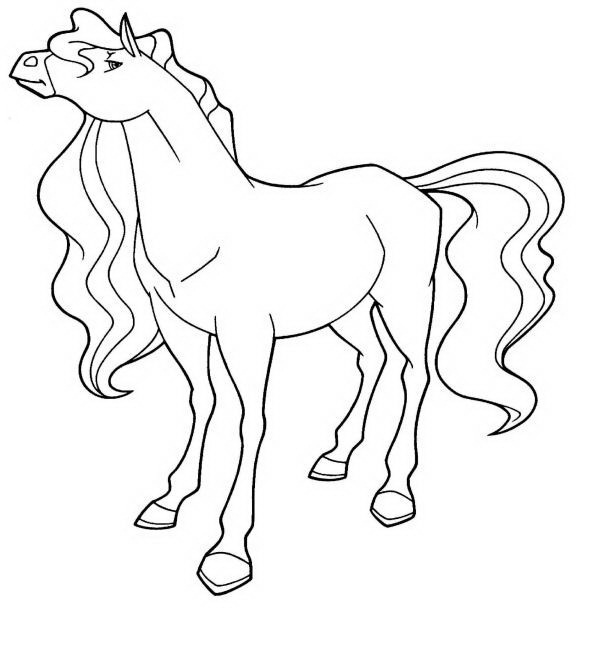horseland zoey coloring pages - photo#4