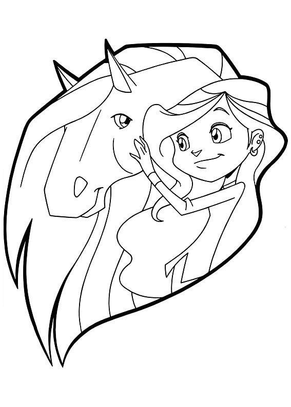 horseland zoey coloring pages - photo#32